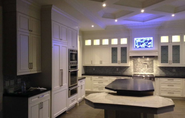 Finished Interior in Vaughan