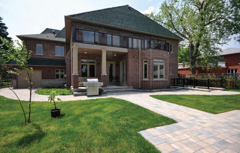 Custom Home Renovation Exterior