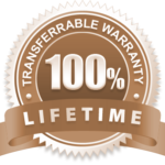 Lifetime Warranty Transparent Logo Moose Basements