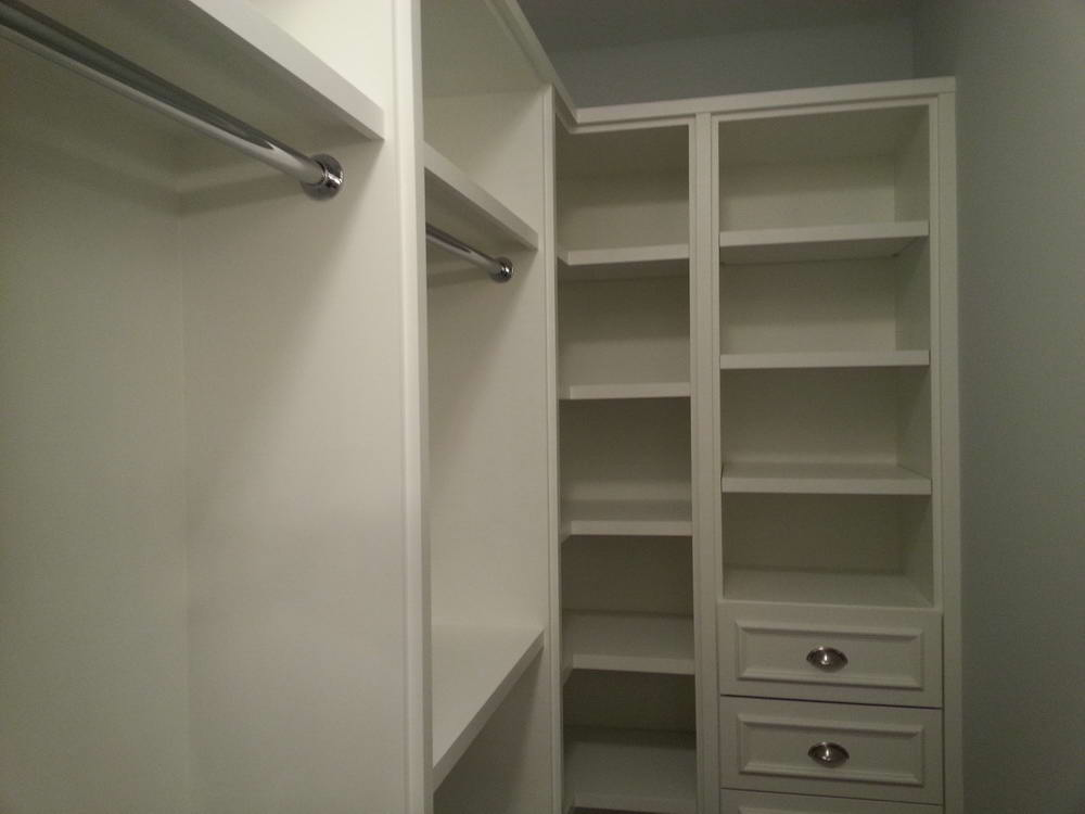 Shelving and Storage in Basement Finishing Project