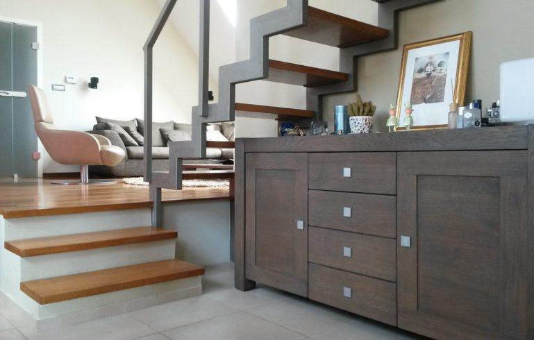 Living Room in Basement Finishing by Moose Basements