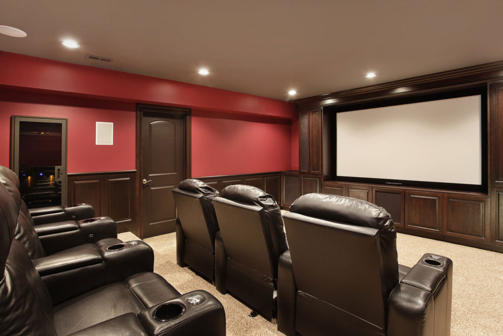 Home Theater Basement Renovation Richmond Hill Moose Basements