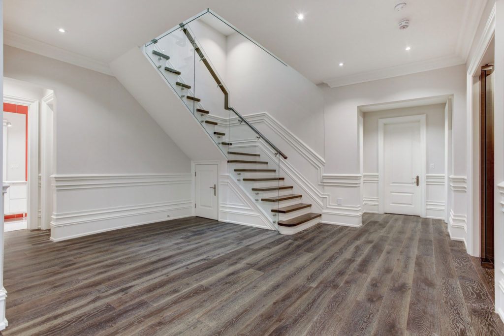 Open Space Basement remodeling Etobicoke
