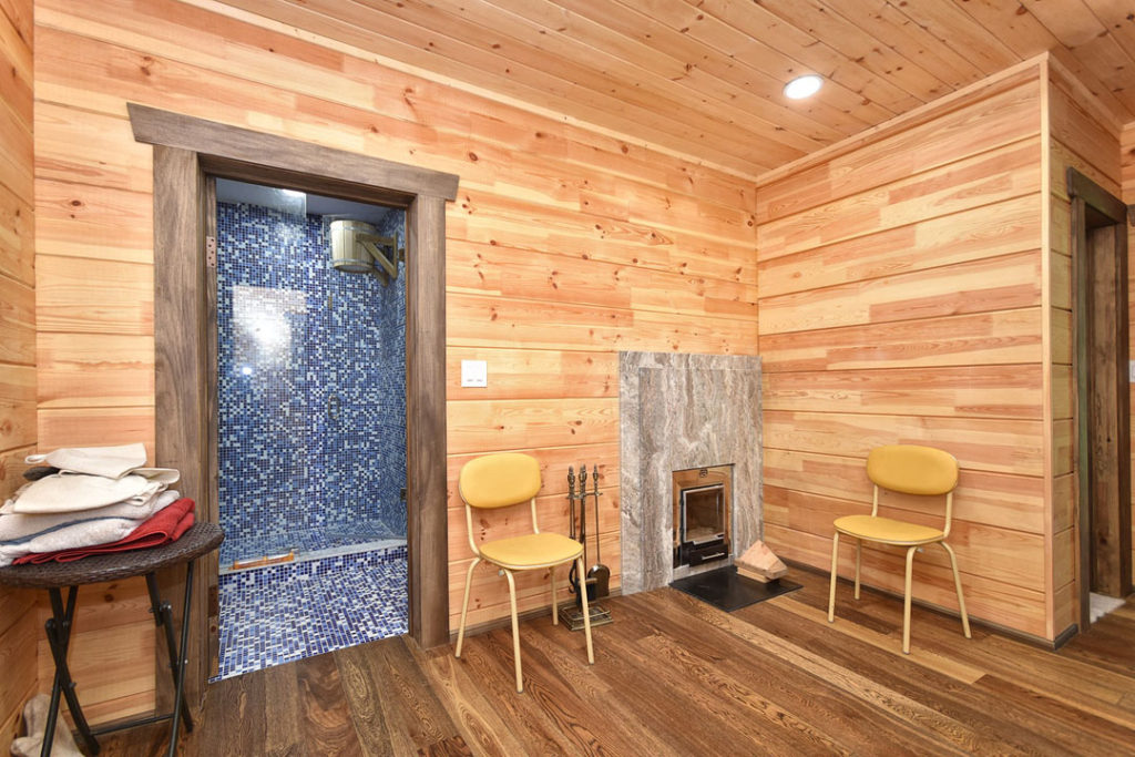 Basement Sauna Room Wooden