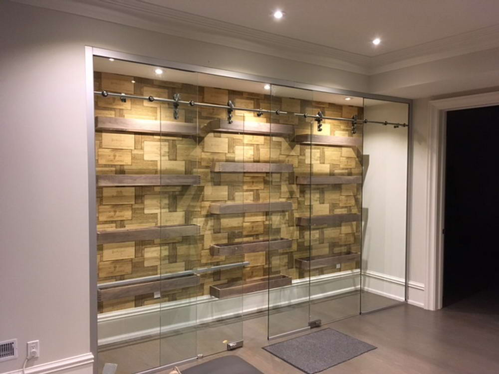 Basement Remodel Nobleton Wine Cellar