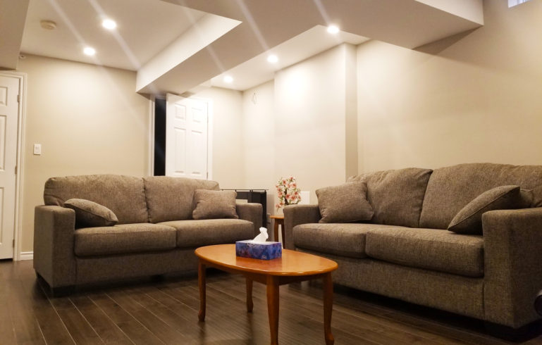 Legal Secondary Suite Living Room Image