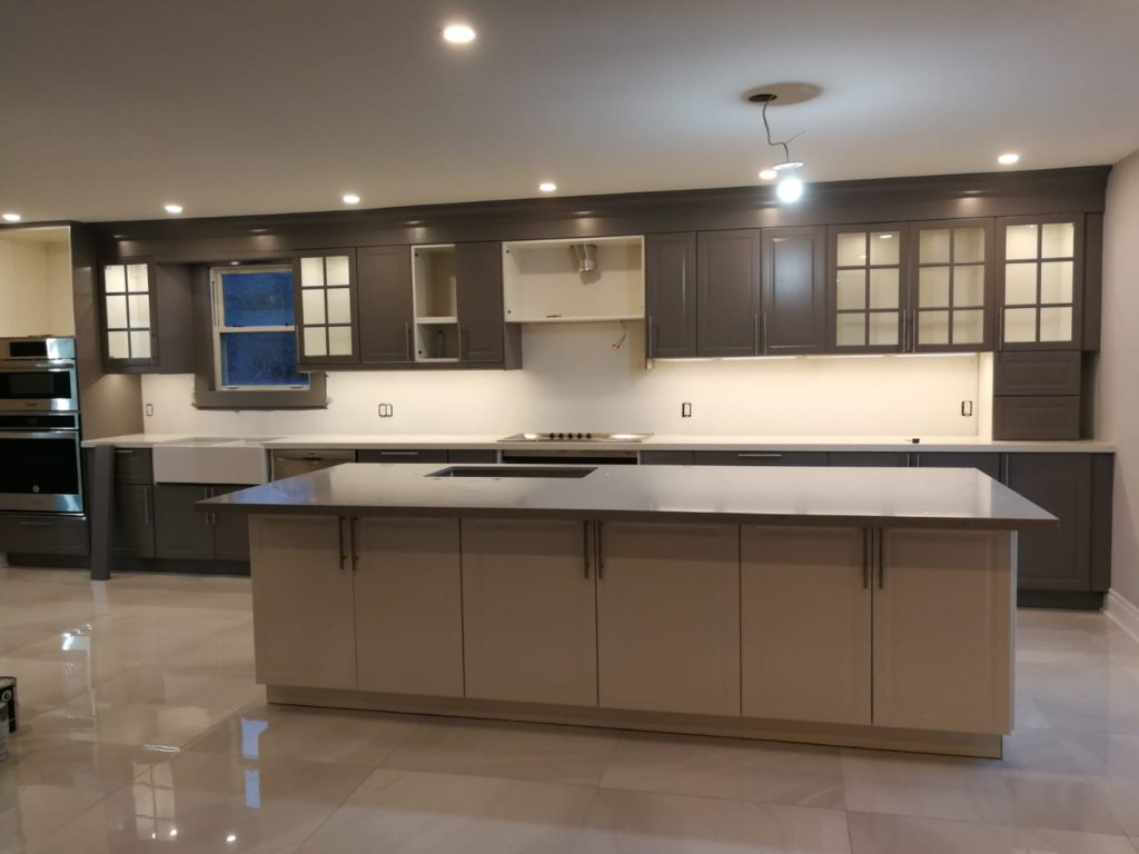 Modern Kitchen Design by Moose Basements