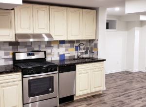 Basement Kitchen Design East Gwillimbury Ontario