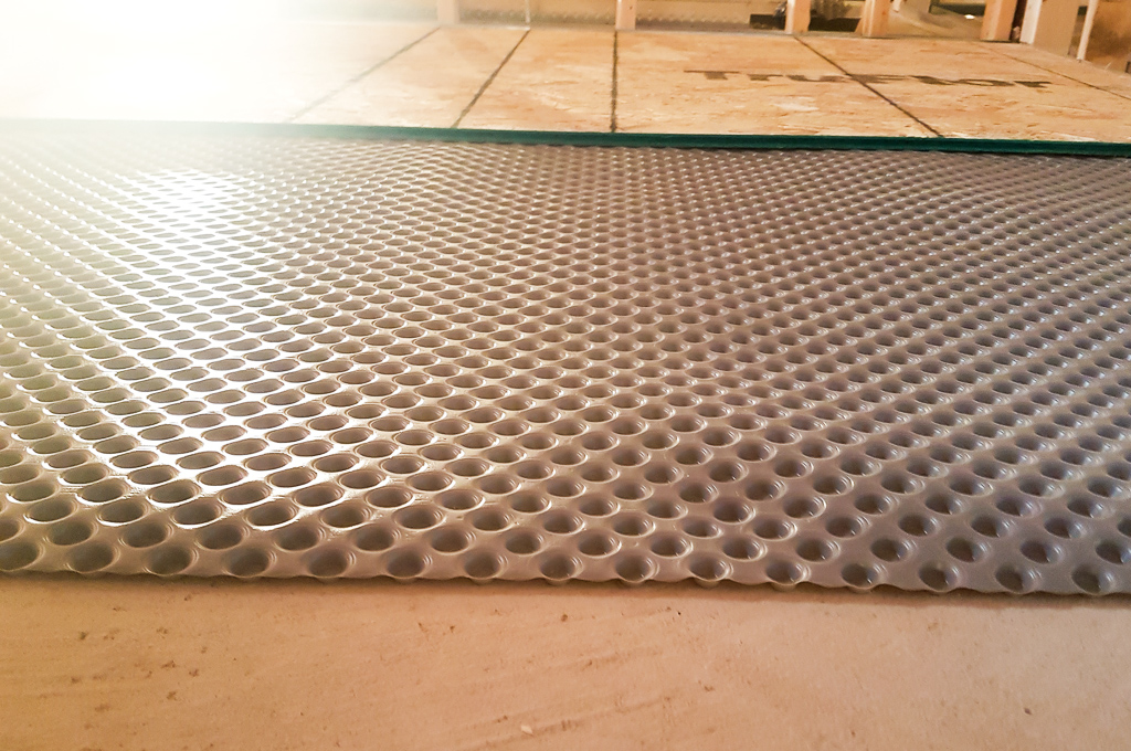 Flooring Membrane Isolation