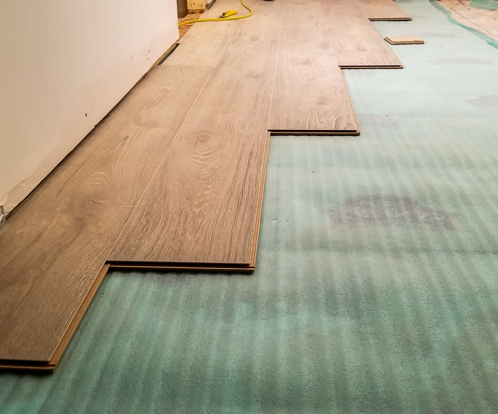Laying Laminate Floors Basement Finishing