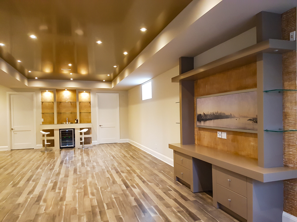 luxury Basement Design - basement renovation in Markham