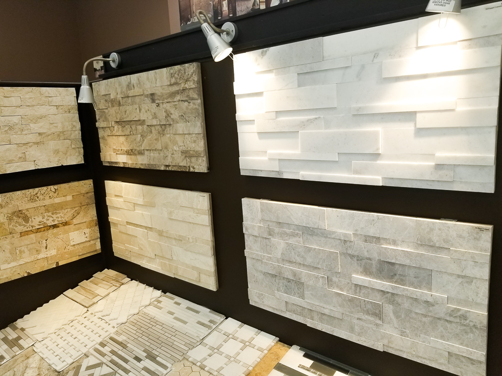 Vinier Stone for Feature Walls Showroom