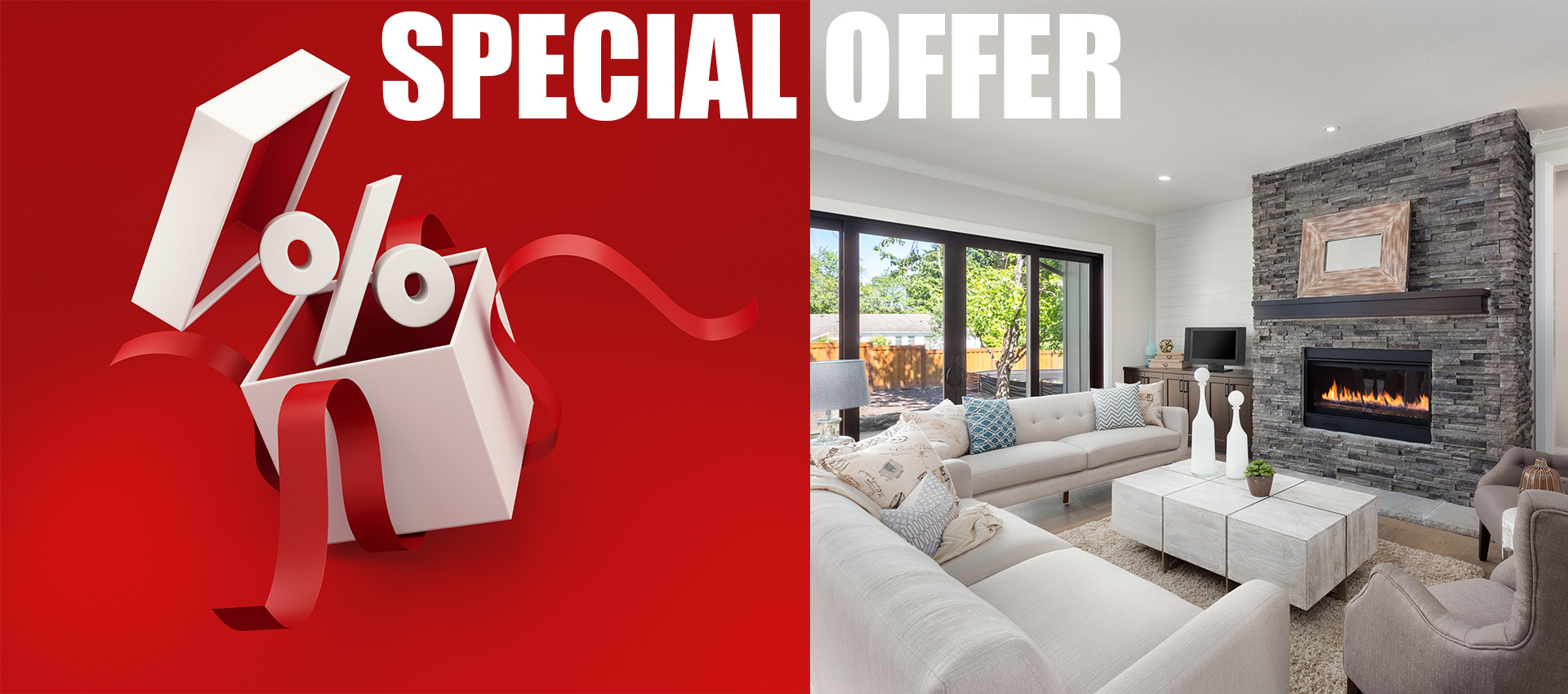 Basement financial special offer