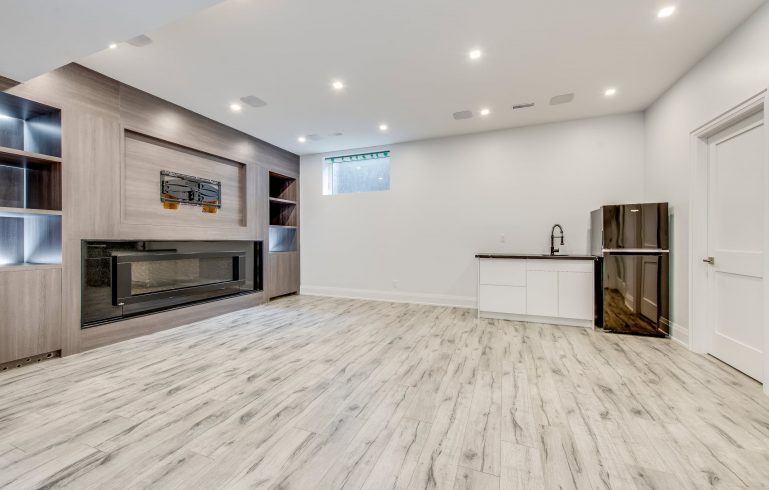Finished Basement Apartment in Toronto