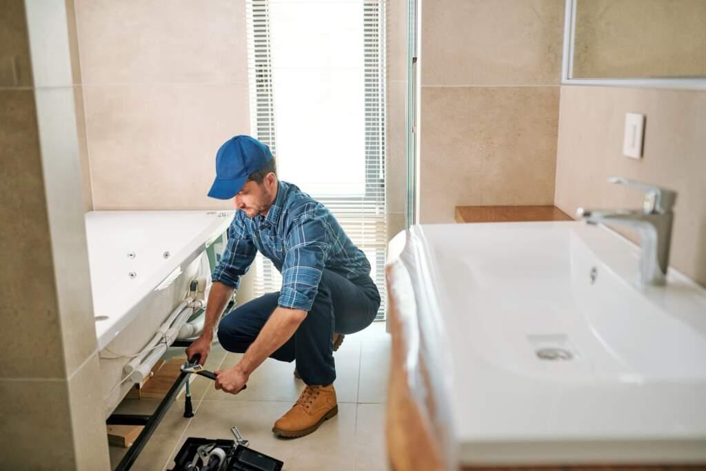 Basement Bathroom Renovation by Moose Basements