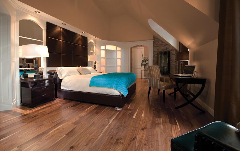 Basement Bedroom Modern Design by Moose Basements Brampton