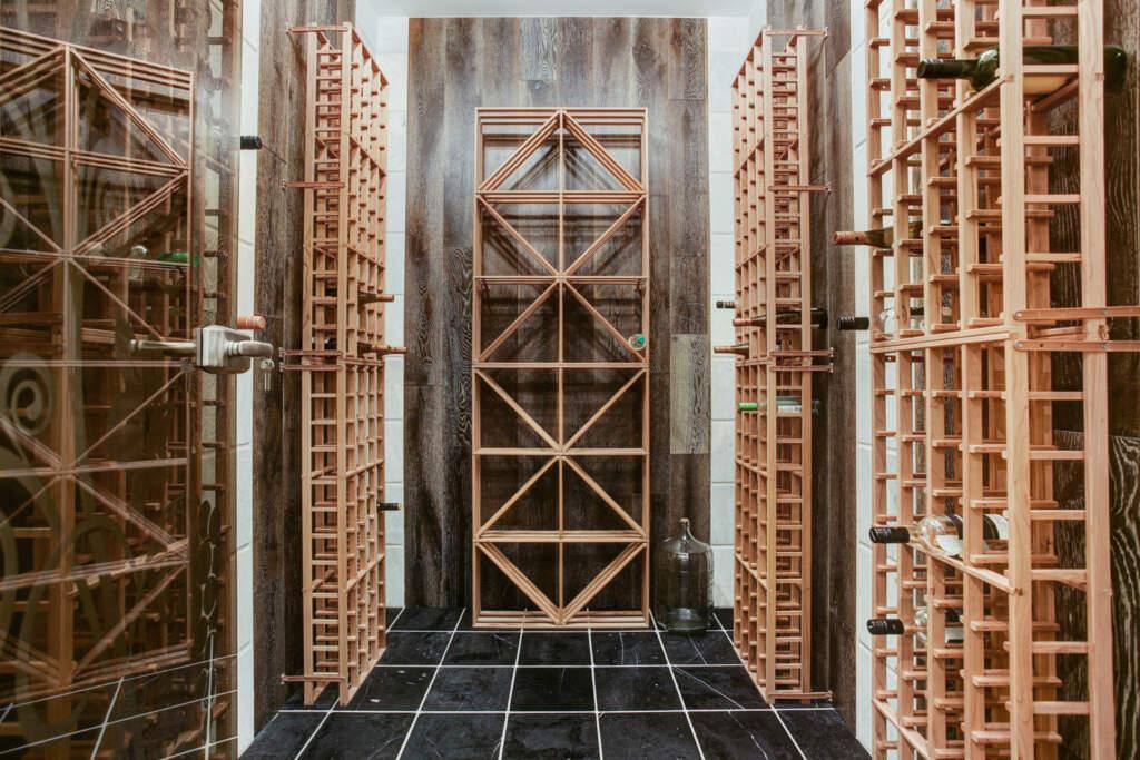 Custom Wine Cellar in Amazing Basement by Moose Basements Nobleton