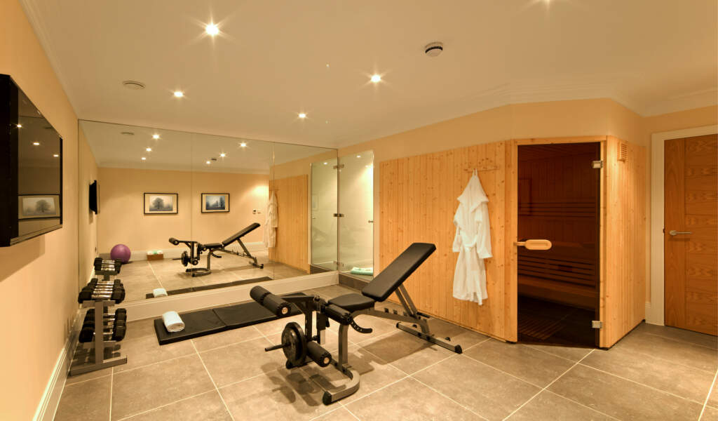 Amazing Basement with Sauna Room and Privet Gym - Basement Design Brampton