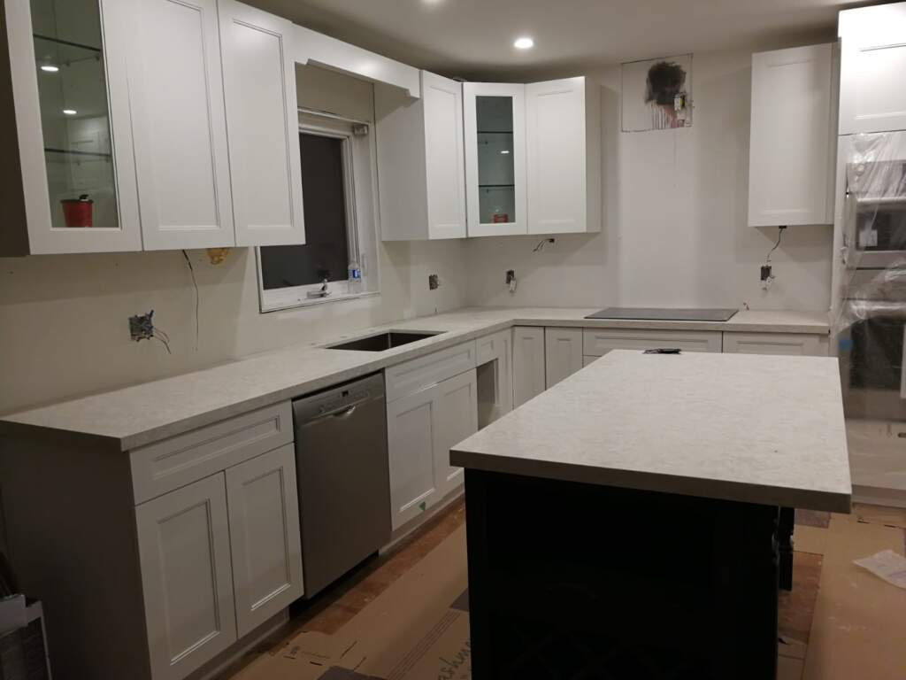 Custom Basement Kitchen Remodeling Project Scarborough