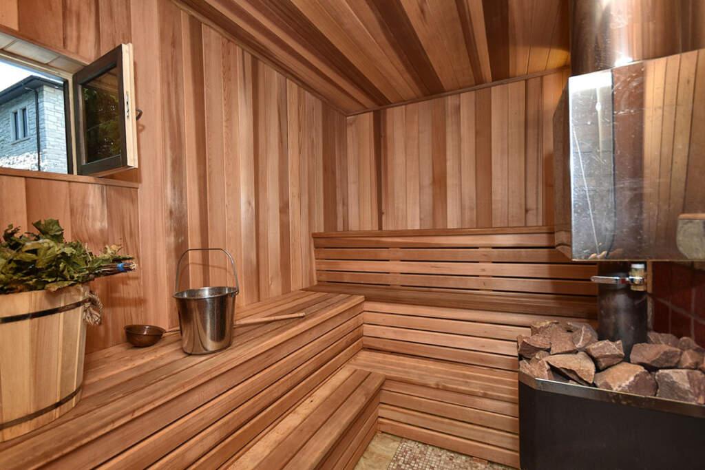 Amazing Sauna in The Basement by Moose Basements