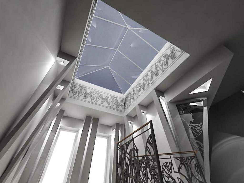 Amazing 3D Render of Staircase Design - Basement Design Ajax