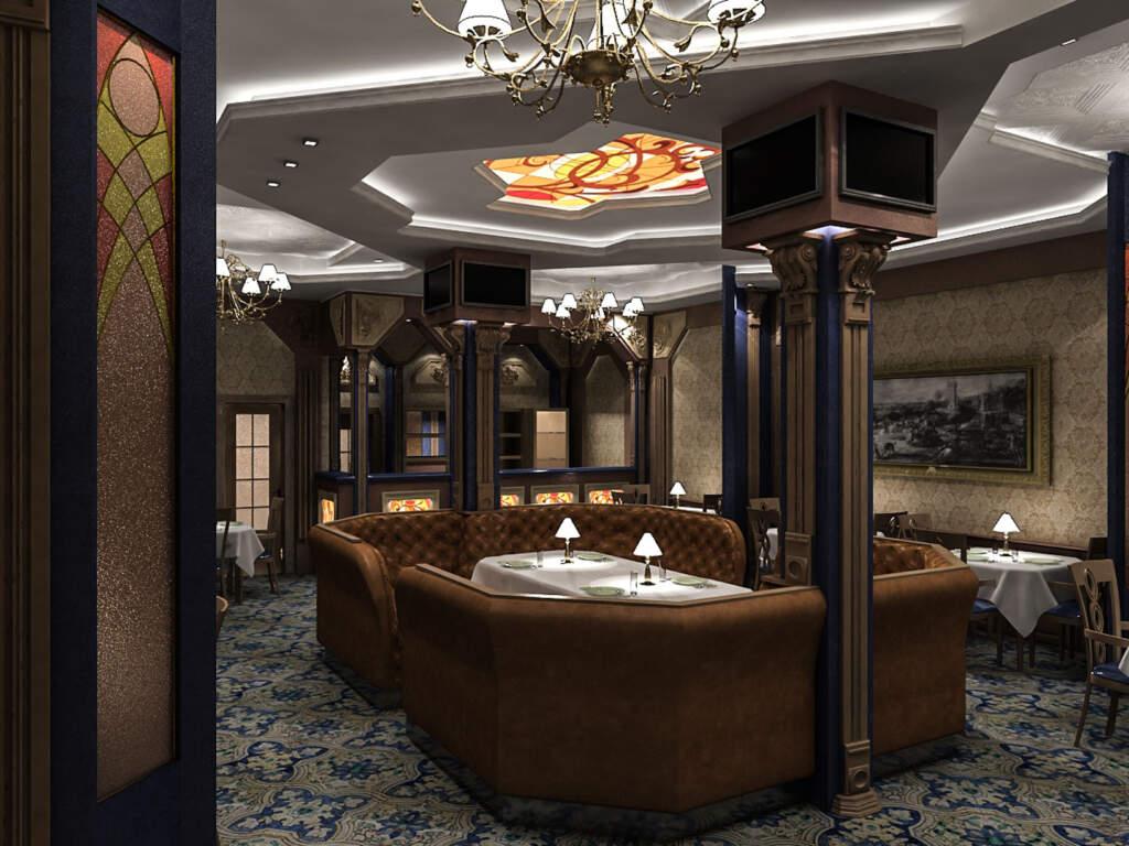 3D Render of Amazing Basement Design Oshawa