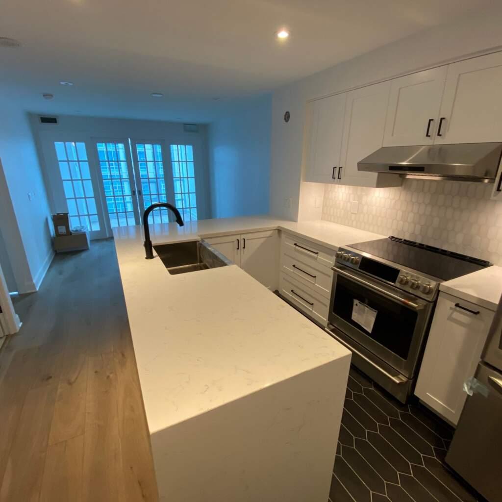 Modern Kitchen Installation in Condo Apartment