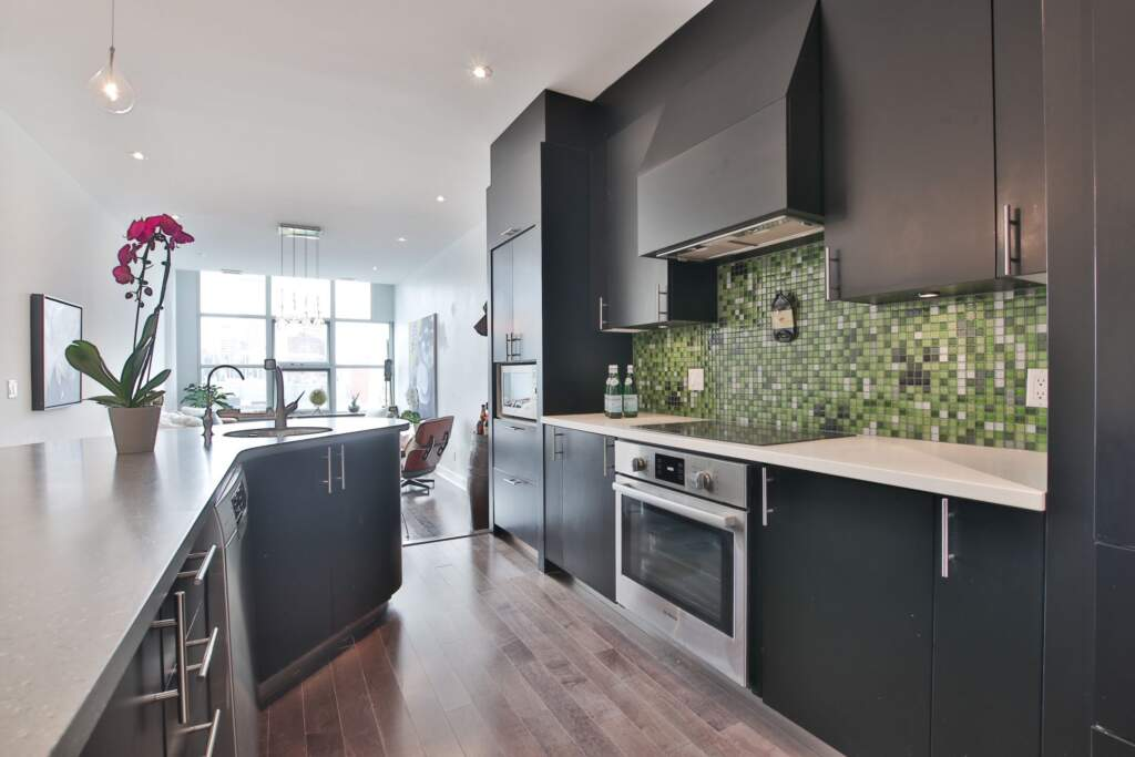 Luxury Condo Kitchen Remodeling Project