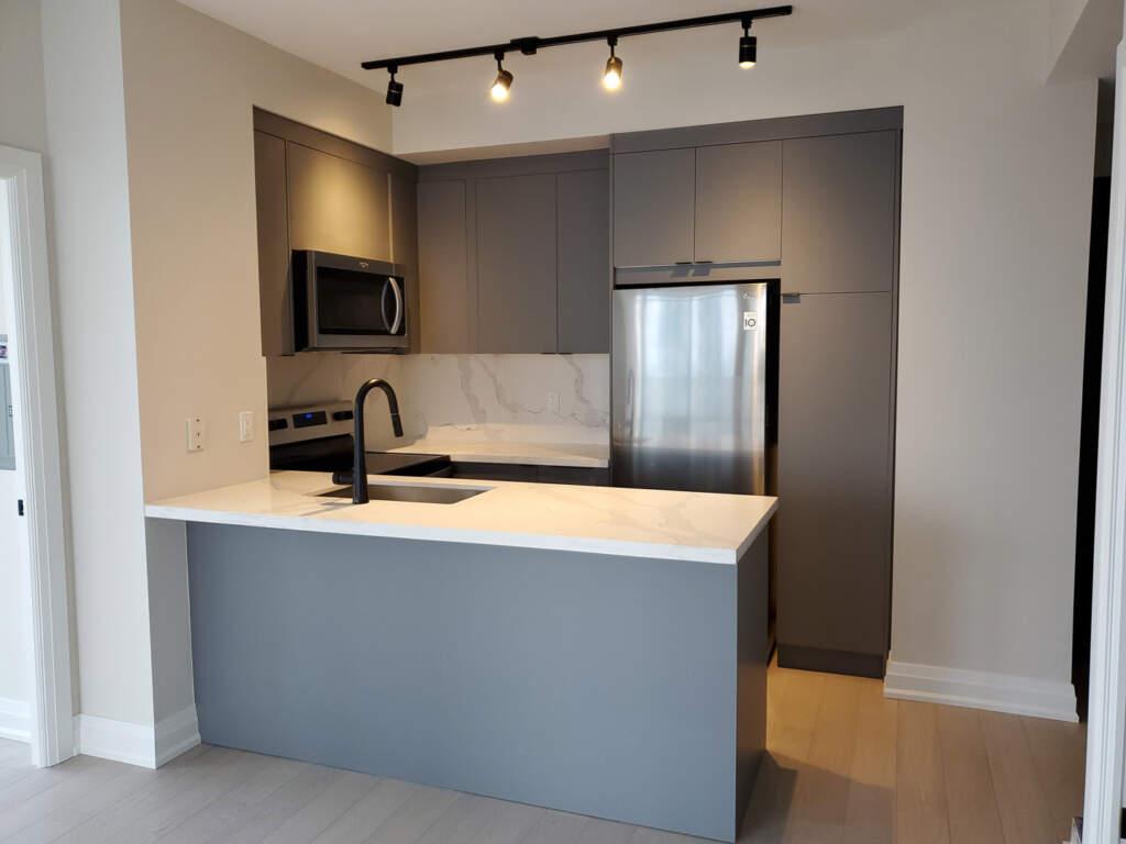 Small Basement Kitchen Installation Project